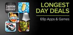 Google Play - Longest Day deals. GTA 3 69p and more