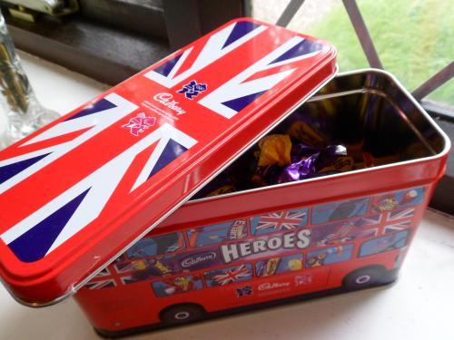 Cadbury Heroes Olympic Bus Tin £1.99 @ B&M