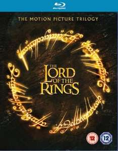 Lord of the Rings Box Set Blu-ray zavvi.com free delivery. - £14.95