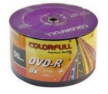 50 X DVD-R Colourfull 8X 4.7GB 120min Blank Media Disc £7.88 DELIVERED @ eBay /rscommunications