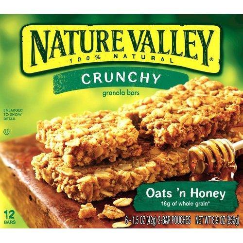 Nature Valley Crunch 6 Pack all varieties £1.50 instore Morrisons