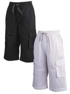 DemoThree-quarter Length Pull on Shorts (2 pack) was £ 15 now £ 4 @ Very