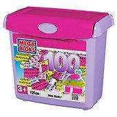 100 Piece Mega Bloks Mini Bloks Tub Pink or Primary now £5 del to store @ Tesco
