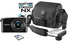 New SAMSUNG NX100 14.6 MP 3 INCH SCREEN COMPACT SYSTEM CAMERA WITH STARTER KIT £169.99 Del @ Argos eBay