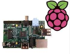 Raspberry Pi (Model B) - £29.46 @ element14  Farnell (expected delivery within 5 weeks.)
