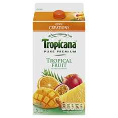Tropicana Pure Premium Tropical Fruit Juice 1.5 litres  99 pence only @ 99P stores