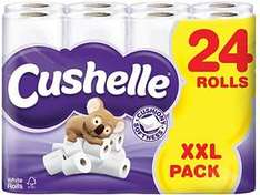 Cushelle 24 roll toilet tissue £6.99 at Lidl from 19th July 2012