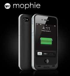 Mophie Juice Pack Air for Iphone 4 & 4s (Black & White) £39.99 @ O2