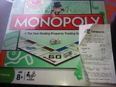 Monopoly 70% OFF - £4.79 @ Sainsbury's instore
