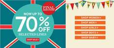 Now upto 70% off sale on @ Joules