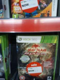 Dead Island: Game Of The Year Edition(Xbox360) £10 @ ASDA Motherwell