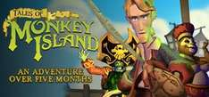 Tales of Monkey Island Complete Pack - 75% off on Steam - £6.24 (flash sale)