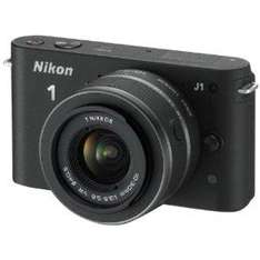 Nikon J1 Camera Black with 10-30mm lens kit - £299.99 (£249.99 after cashback) @ Amazon and Argos