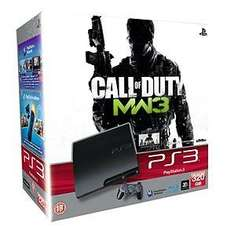 Sony PS3 320GB Console + Modern Warfare 3 + All DLC + Extra DualShock 3 + PS Move Starter Pack + Gioteck Real Triggers + 3 month LoveFilm subscription - £219.99 at Amazon.co.uk!