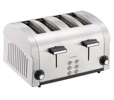 SANDSTROM S04TBS11 4-Slice Stainless Steel Toaster £14.99 @ Currys