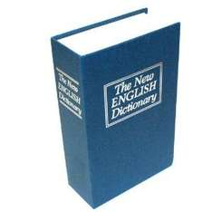 Thumbs up UK book safe, English dictionary style. £3.80 From Amazon.co.uk lightning deals