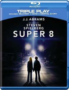 Super 8 (Triple Play Blu-ray) - £6.99 @ Play.com & Amazon