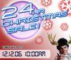 24 Hr Christmas Sale at CD WOW!  Starts today at 10am !!