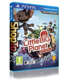 Little Big Planet PS Vita preorder @ Shopto - £29.86 delivered with possible quidco