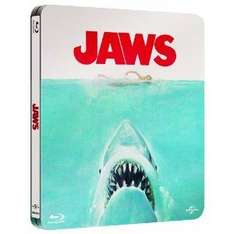 Jaws Limited Edition Steelbook (Blu-ray + Digital Copy + UV Copy) + free MP3 theme tune pre-order from Amazon for £17.99