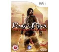 PRINCE OF PERSIA FORGOTTEN SANDS WII- £4.97 @ Currys