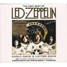 Led Zeppelin - Early Days and Latter Days - The Very Best of Led Zeppelin [Enhanced, Original recording remastered] 2xCD Boxset [Used -Very Good] only £1.27 delivered @ Zoverstocks / Amazon