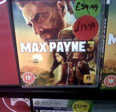 Max Payne 3 for PS3 £19.99 New In Store @ Bee.com