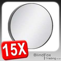 15x Magnification Close Eye Make Up Mirror Suction Cup Contact Lens Magnifier £2.29 @ebay outlet blindfox with Free P&P