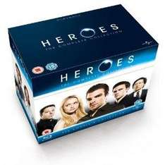 Heroes - Complete Season 1-4 on Blu-ray at Amazon for £26.97
