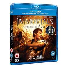 Immortals 3D blu ray 5.99 @ amazon