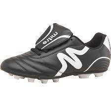 Mitre Junior Intent FG Football Boots Black/White £10.99 Delivered @ MandM Direct