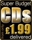 Super Budget CDs from only £1.99 delivered @ Play.com!