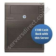 HP ProLiant N40L Microserver £203.98 Delivered (£103.98 after HP Cashback) @ Servers Direct