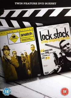 Lock Stock and Two Smokin Barrels & Snatch - double dvd pk - £3 at Sainsburys instore