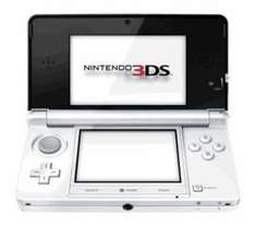 Ice White Nintendo 3DS Console (Also in Black) with New Super Mario Bros 2 - Only £129.99 Delivered at GAME online