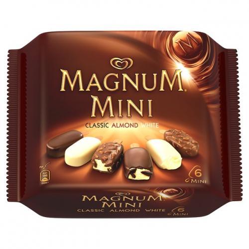 Magnum 3 Packs (Classic, White & Almond) Half price £1.24 @ Tesco