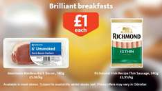 Bacon 6 pack Rindless @ Morrisons ~ £1.00