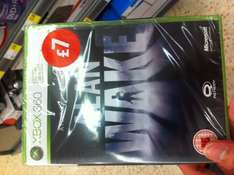 Alan Wake (Xbox 360) £7 in-store at Morrisons