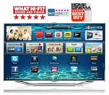 "Samsung 55"" ES8000 Price matched John Lewis £1835, 5 year Warrenty, free Galaxy tab2"