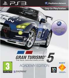 Gran Turismo 5  Academy  Edition PS3 , with code Only £13.59 @ Sainsburys Entertainment