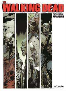 The Walking Dead : The Official Magazine #1 (Forbidden Planet Variant) [First Edition Print] SIGNED by artist Charlie Adlard only £4.99 instore or have delivered for just £1 @ Forbidden Planet