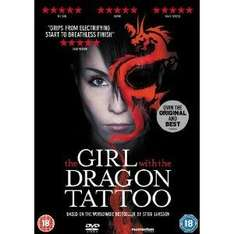 The Girl with the Dragon Tattoo [DVD] (Swedish Version) - £2.99 @ Amazon