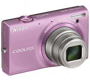 Nikon S6150 Digital Camera - Pink (16MP - 7x Optical Zoom) 3 inch LCD @Tesco Direct - £39.99