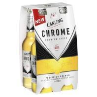 Carling Chrome 4.8% (4x330ml) £1.24 @ Asda