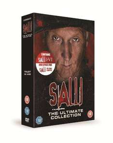 Saw 1-6 Box Set Great Price for 6 Horrors USED £13.99 @ ThatsEntertainment