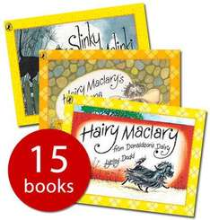Lynley Dodd Hairy Maclary Collection - 15 Books (PB) £15 del @ The Book People (using code XMAS262)