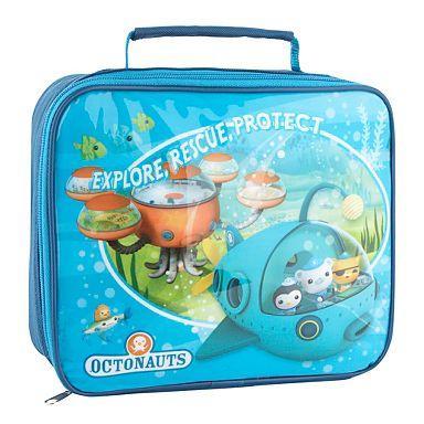 Boy's blue 'Octonauts' lunch bag, £3.37 Delivered Using Codes BG27 + SHD1 @ Debenhams, Also Rucksack, See Below