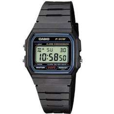 Casio F-91W-1YER Men's Resin Digital Watch £6.69 Sold by Great - Deals and Fulfilled by Amazon.