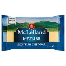 McLelland Mature Scottish Cheddar, 350g (£2.46 AND BOGOF) @ Tesco