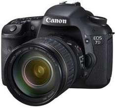 Canon 7D with warranty *refurbished* with 18-135 EF-S IS Lens £902.94 @ Canon ebay